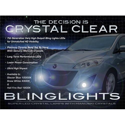 2012 2013 2014 Mazda5 Mazda 5 LED Fog Lights Driving Fog Lights Kit