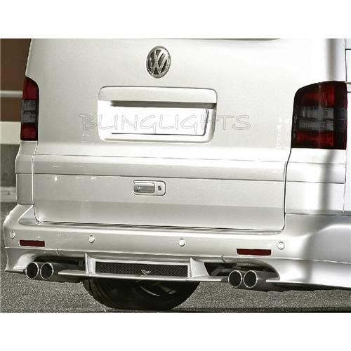 Volkswagen VW T5 Kombi Tinted Smoked Protection Overlay for Tail Lights