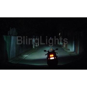 1994-1999 HARLEY-DAVIDSON DYNA CONVERTIBLE XENON FOG LIGHTS DRIVING LAMPS LIGHT