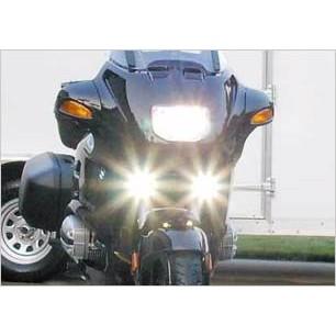 2005-2009 SUZUKI BOULEVARD C90T XENON FOG LIGHTS DRIVING LAMPS LIGHT LAMP KIT 2