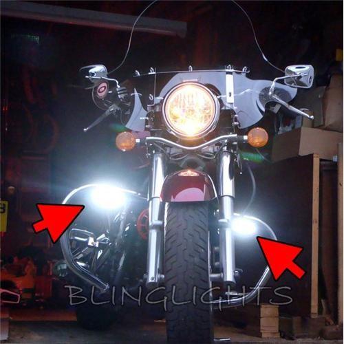 Kawasaki Vulcan 400 VN400 Xenon Driving Lights Fog Lights Driving Lights Fog Li