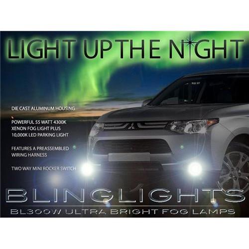 2014 2015 Mitsubishi Outlander Fog Lights Kit LED Xenon Fog Lights Driving Ligh