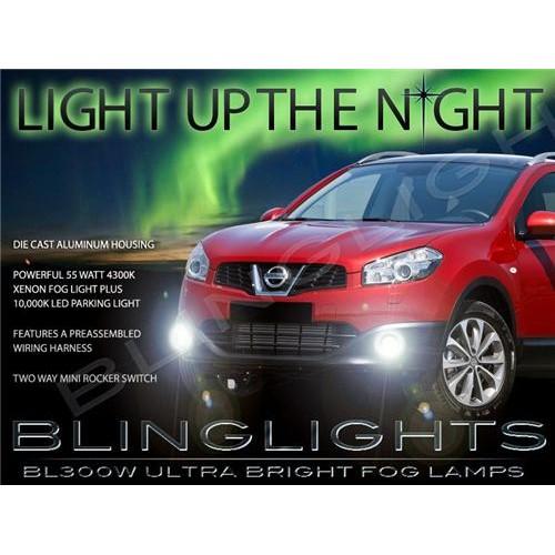 2010 2011 2012 2013 Nissan Qashqai Fog Lights Kit Xenon Fog Lights Driving Ligh