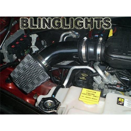 Jeep Liberty KJ KK 3.7L V6 Short Ram Air Intake System Carbon Fiber Engine Perf