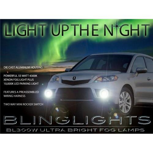 2010 2011 2012 Acura RDX Xenon Fog Lights Driving Lights Driving Fog Lights Kit