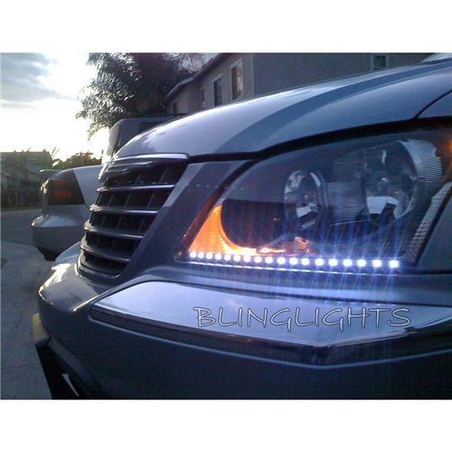Chrysler Pacifica LED DRL Light Strips Head Lights Day Time Running Strip Light