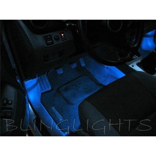 Toyota Rav4 White LED Interior Feet Foot Well Mood Lighting Footwell Lights Acc