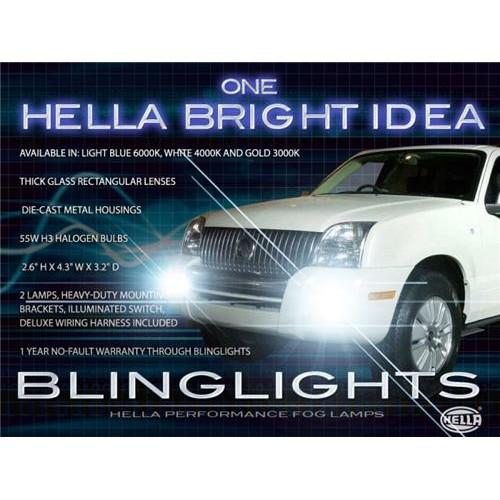 2006 2007 2008 2009 2010 Mercury Mountaineer Xenon Fog Lights Driving Lights Fo