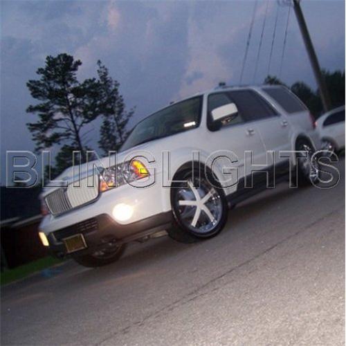 98-05 Lincoln Navigator Halo Fog Light Driving Light Kit