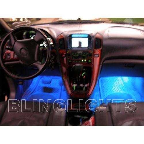 2004 2005 2006 2007 2008 2009 Lexus RX330 RX350 RX400h RX White LED Interior Li