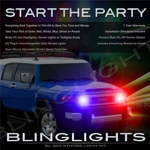 Toyota FJ Cruiser Strobes Police Light Kit for Head Lights Strobe Lights