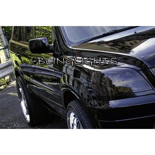 Honda MR-V Tinted Smoked Protection Overlay Film for Head Lights