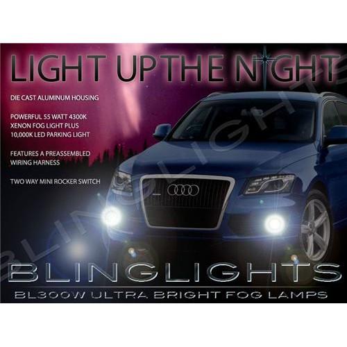 2009 2010 2011 2012 Audi Q5 Xenon Fog Lights Driving Lights Fog Lights Kit