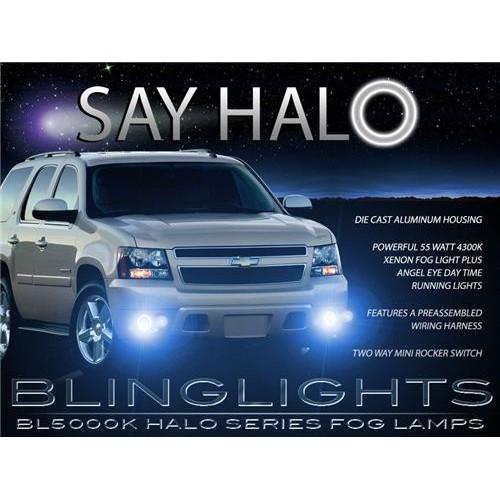 2007 2008 2009 2010 2011 2012 Chevrolet Chevy Tahoe Halo Fog Lights Angel Eye F