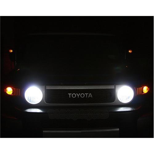Toyota FJ Cruiser Bright White Light Bulbs for Head Lights