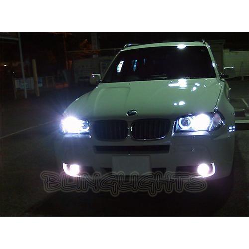 BMW X3 e83 f25 Bright White Low Beam Light Bulbs for Head Lights
