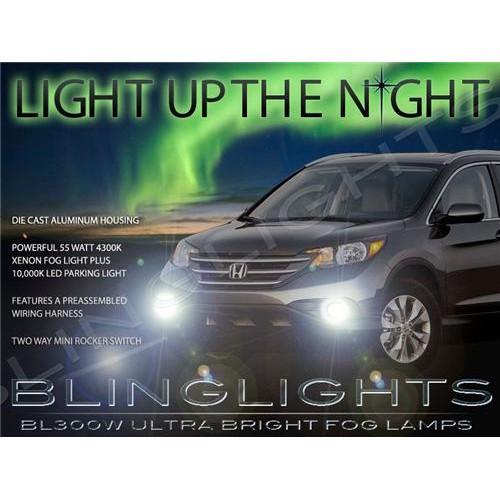 2012 2013 2014 Honda CR-V Fog Lights Driving Lights Kit Xenon Fog Lights Drivin