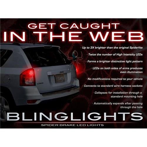 Jeep Compass Custom LED Tail Lights TailLights Spider Light Bulbs