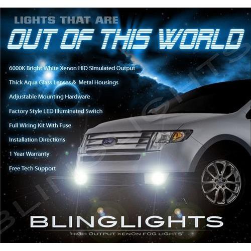2007 2008 2009 2010 Ford Edge Xenon Fog Lights Driving Fog Lights Kit