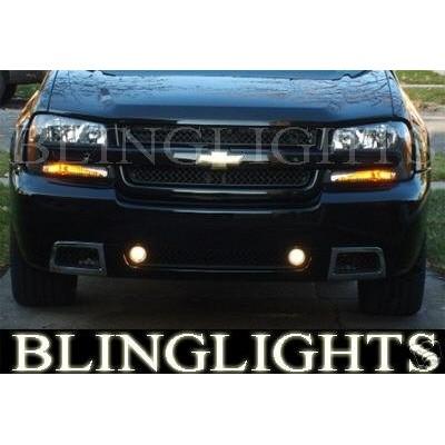 2002-2009 Chevy Trailblazer SS Fog Light Light Kit Xenon Driving Lights