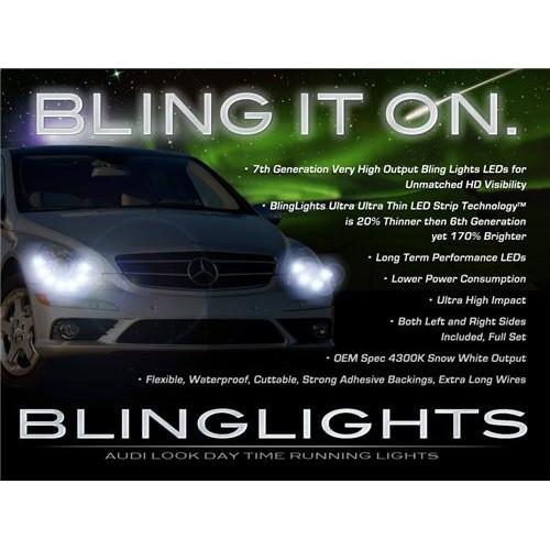 Mercedes R-Class W251 LED DRL Head Lights Strips Lights Kit