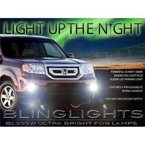 2009 2010 2011 Honda Pilot Xenon Fog Lights Driving Lights Fog Lights Kit
