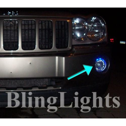 2005 2006 2007 2008 2009 2010 Jeep Grand Cherokee Halo Fog Lights Angel Eye Fog