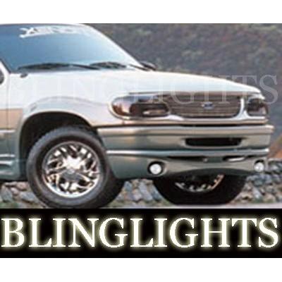 1995-2001 Ford Explorer Xenon Body Kit Fog Lights Bumper Driving Lights Fog Lig