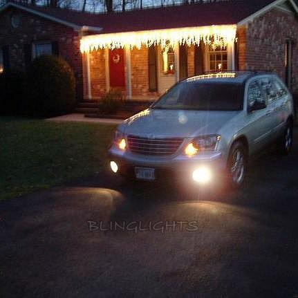 2004 2005 2006 2007 2008 Chrysler Pacifica Halo Fog Lights Angel Eye Fog Lights