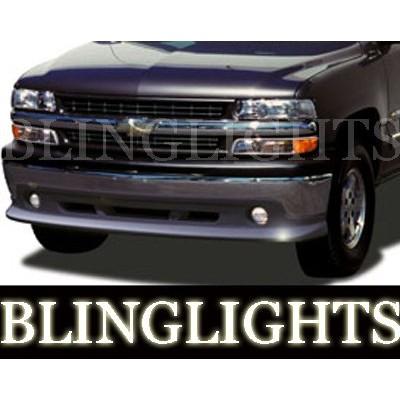 2000-2006 CHEVROLET TAHOE ATS BODY KIT BUMPER FOG LIGHTS LAMPS 2001 2002 2003 2