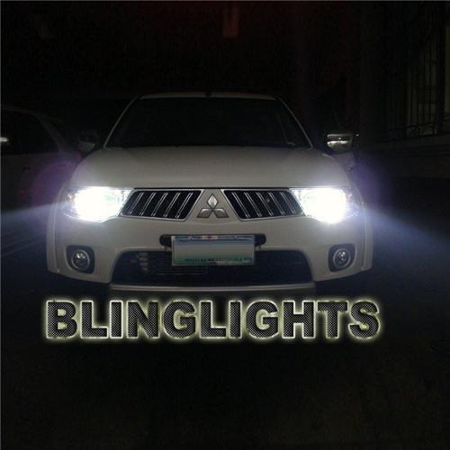 Mitsubishi L200 Triton Bright White Light Bulbs for Halogen Head Lights