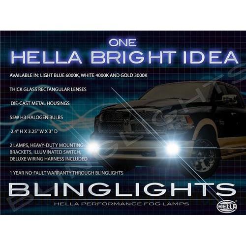 2009 2010 2011 2012 Dodge Ram 1500 Xenon Fog Lights Driving Lights Fog Lights K