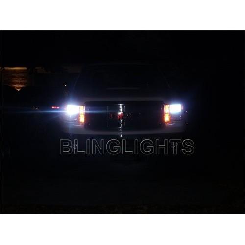 2008-2013 GMC Sierra Bright White Head Lamp Light Bulbs