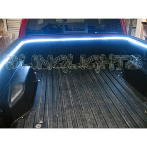 Nissan Frontier Navara D22 D40 White LED Truck Bed Lighting Tailgate Tailgate A