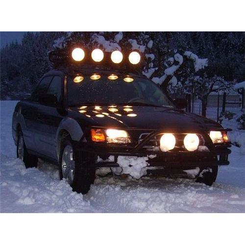 Subaru Baja Off Road Auxilliary Driving Lights Bumper Light Bar Offroad Light K