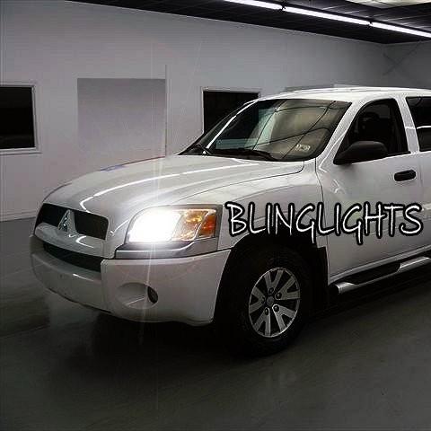 Mitsubishi Raider Bright White Replacement Light Bulbs for Head Lights
