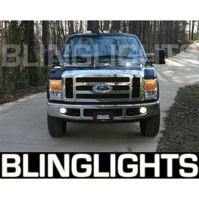 2008 2009 2010 Ford F250 F-250 Super Duty Xenon Fog Lights Driving Lights Fog L