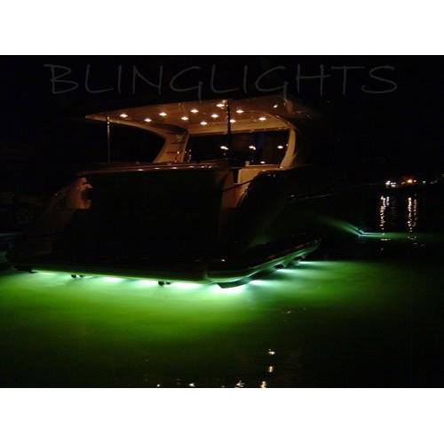 Azimut Yacht LED Underwater Aqua Lamp Marine Underwater Fish Boat Lights Custom