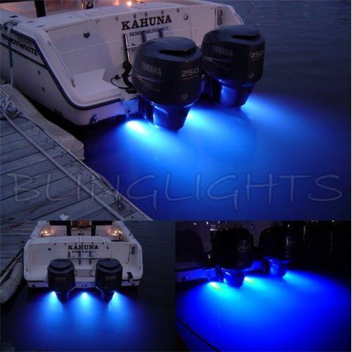 Grady-White Boats LED Underwater Aqua Lamp Marine Bronze Light Fish Yacht Custo