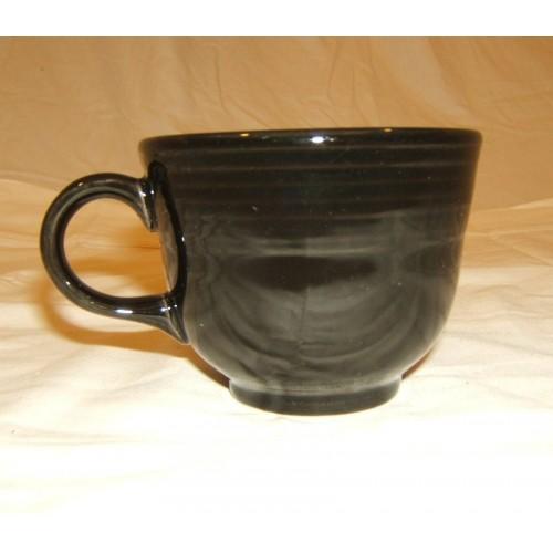 Homer Laughlin Cup Black 7 3/4-oz Fiestaware 452 China