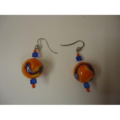 Designer Fashion Earrings Drop/Dangle Female Adult Multi-Color