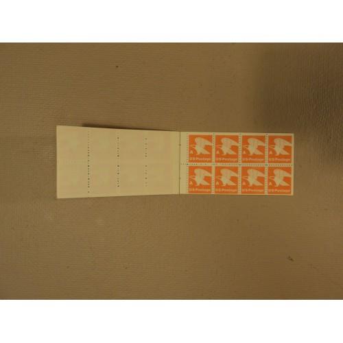 USPS Scott 1736a A Series Book Of 24 Eagle 15c Orange Stamps 1978 Mint Booklet