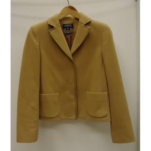 Jones New York Signature Coat Wool Female Adult 6P Camel Solid