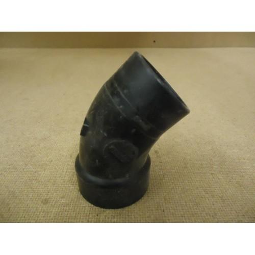 Standard 45 Degree Elbow Black 1 1/2in Plumbing ABS