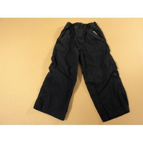 Place Boys' Pants Elastic Waist 100% Cotton Male Kids 2-4 3T Blues Solid