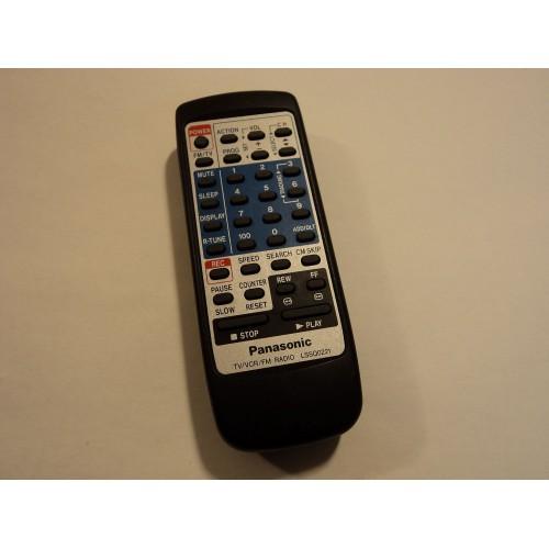 Panasonic Remote Control TV VCR FM Radio LSSQ0221