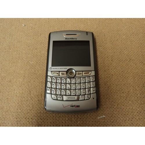 Verizon Cell Phone World Edition Silver Blackberry 8830