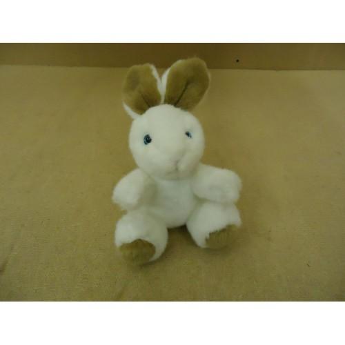 Telefora Rabbit Bunny 9in Snuggly White/Brown