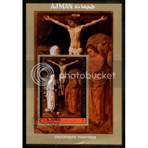 Ajman Crucifixion S/S NH
