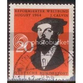 German Stamp John Calvin SC# 891